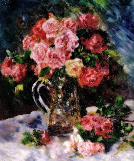 Pierre August Renoir - Roses