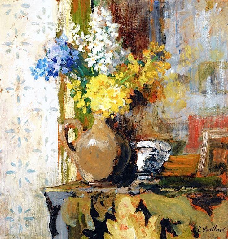 Vase of Spring Flowers, Edouard Vuillard