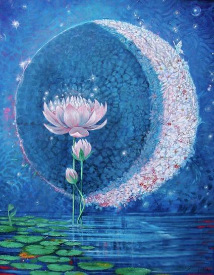 """Springtime Moon"" by Silvia Duran"