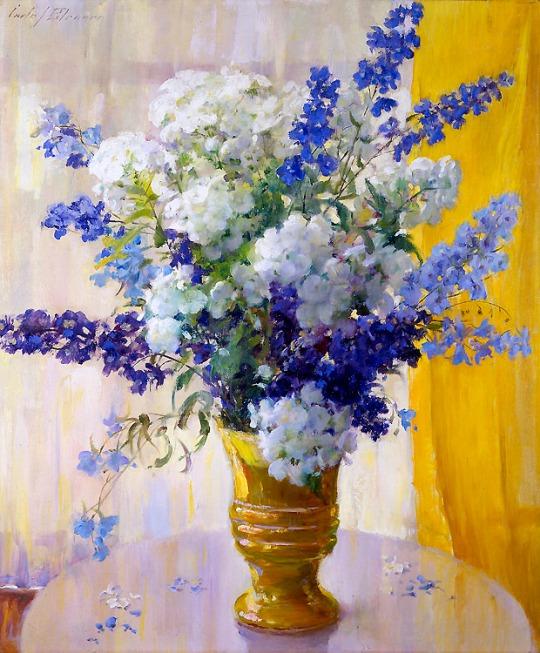 Flowers. Carle John Blenner