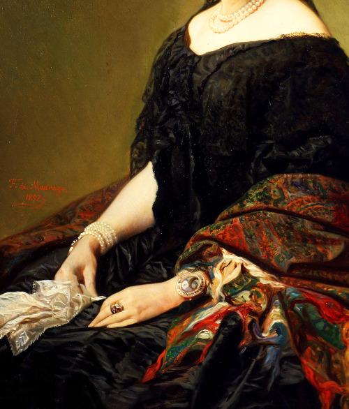 Gertrudis Goméz de Avellaneda, 1857.
