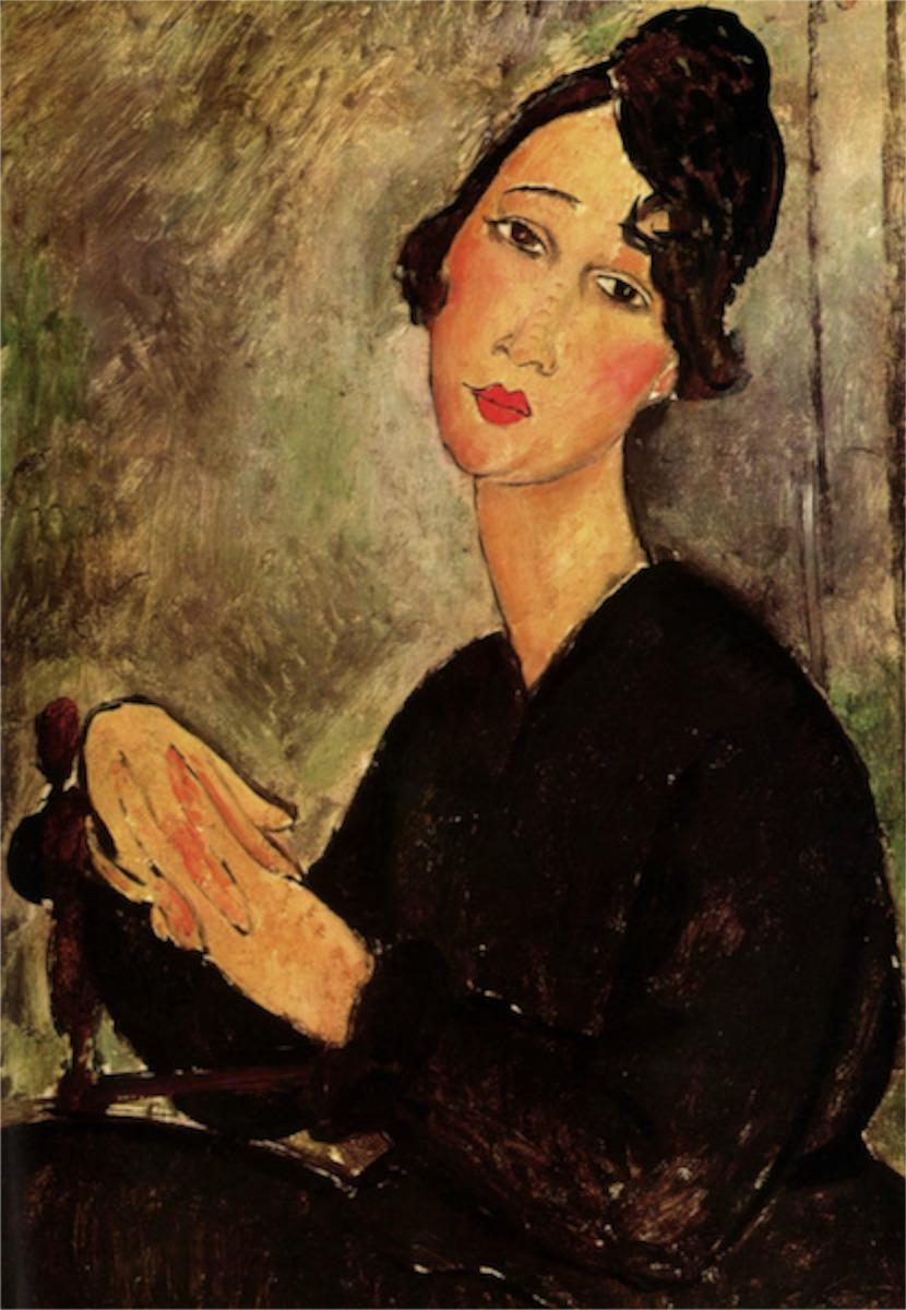 Modigliani - Portrait of Dedie