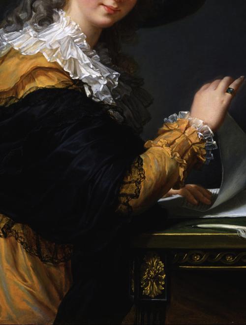 Portrait of Comtesse de Cérès by Louise Élisabeth Vigée Le Brun 1784.