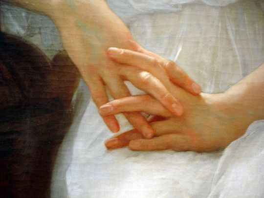 Bouguereau - Whisperings of Love