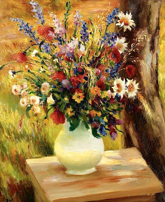 The Vase with Wild Flowers
