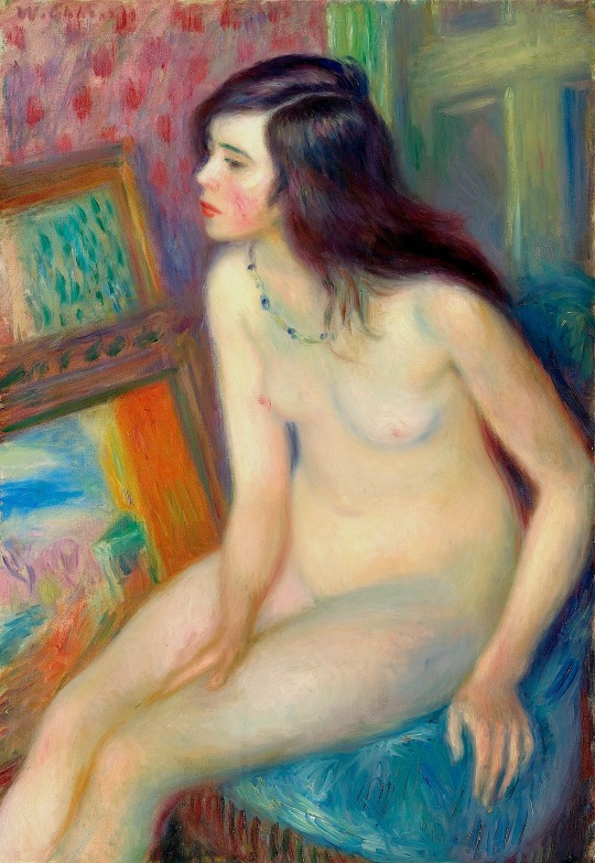 William J. Glackens - Temple Gold Medal Nude (1924)
