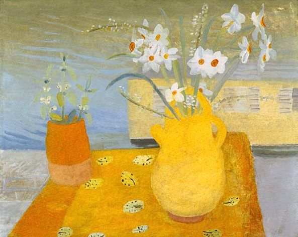 Winifred Nicholson - Kate_s flowers