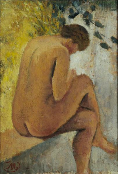 AristideMaillol+DinaAtTheFram+1941+MuseeMaillol-Paris