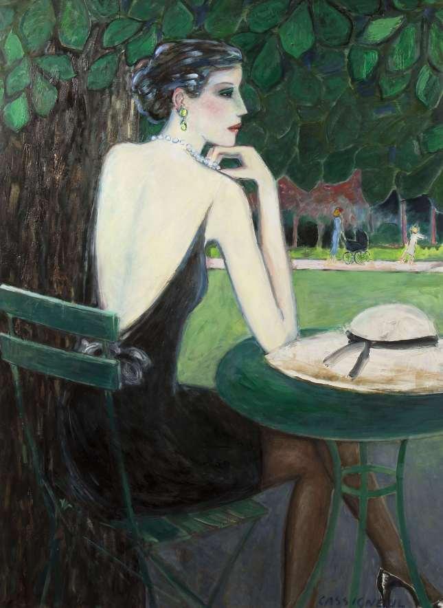 Dragostea mea rătăcește pe străzi ... Artist Jean Pierre Cassigneul (Franța, 1935)