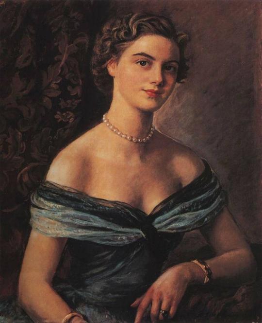 Artist Zinaida Serebryakova