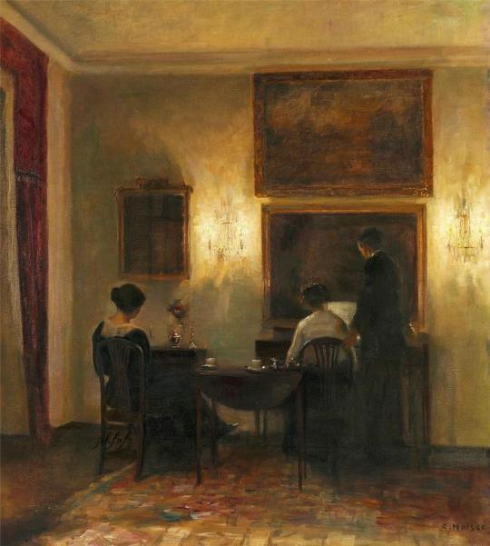 Carl Vilhelm Holsoe (1863-1935) 2