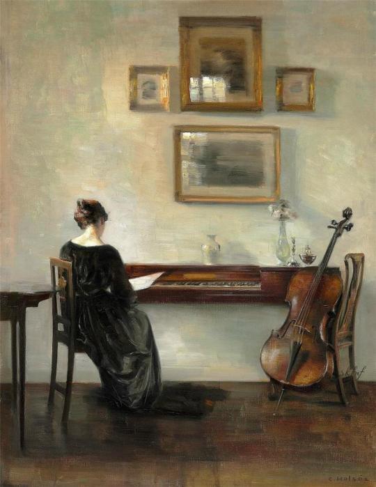 Carl Vilhelm Holsoe (1863-1935)