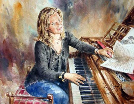 Artistul englez Gordon King11