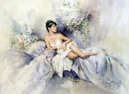 Artistul englez Gordon King14