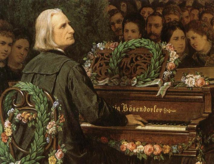 Franz Liszt https://www.tuttartpitturasculturapoesiamusica.com