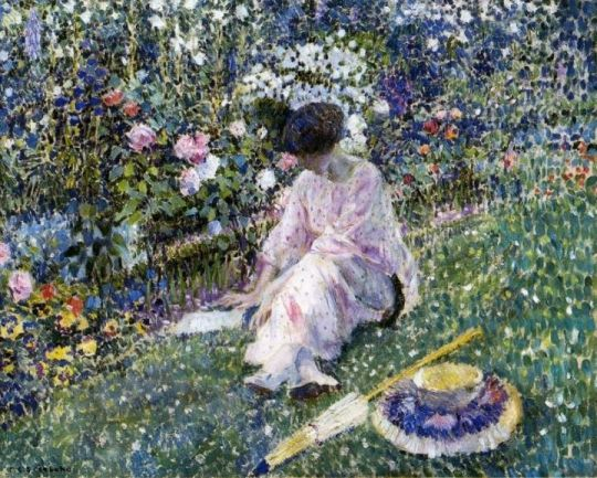 Frederick Carl Frieseke - Tutt'Art@ (19)