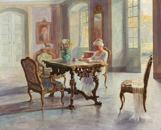 ROBERT PANITZSCH (DANEZĂ, 1879-1949) 15