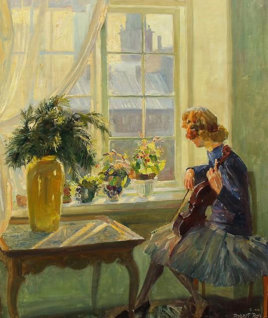 ROBERT PANITZSCH (DANEZĂ, 1879-1949) 3