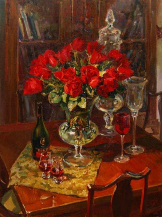 Artiștii Evgeny Baranov și Lydia Velichko-Baranova sunt o combinație unică de artiști 7