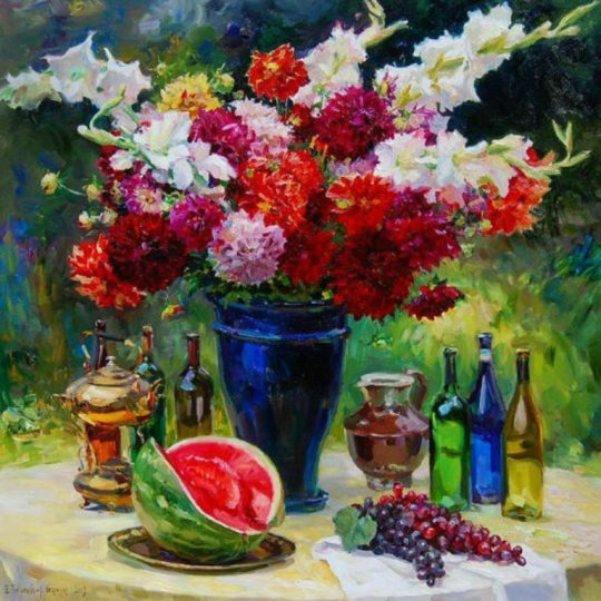 Artiștii Evgeny Baranov și Lydia Velichko-Baranova sunt o combinație unică de artiști 8
