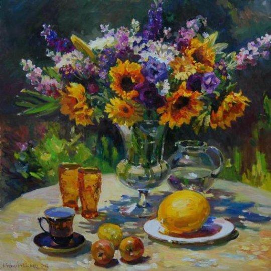 Artiștii Evgeny Baranov și Lydia Velichko-Baranova sunt o combinație unică de artiști