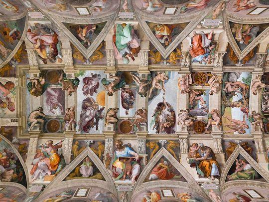 Capela plafonului din Sixtine