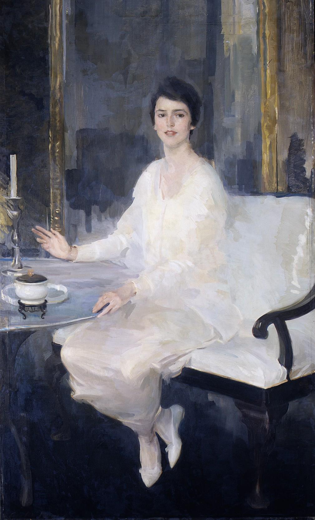 Cecilia Beaux (1855-1942), Ernesta, 1914