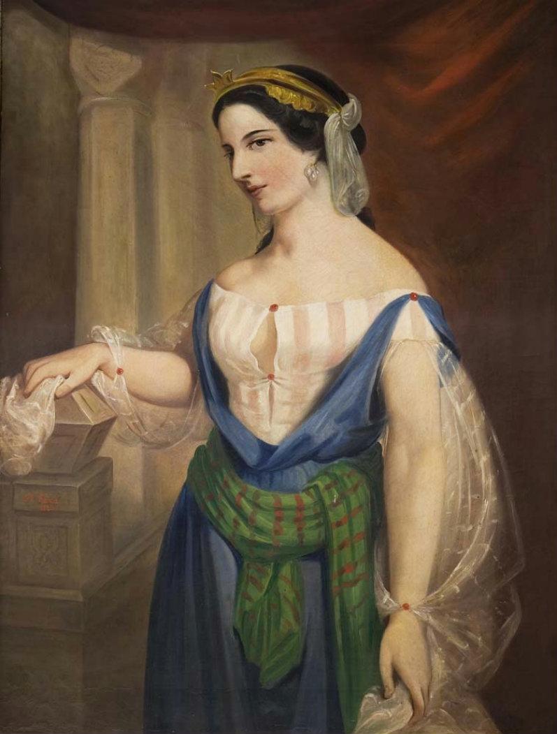 Fava Brigida 1800-1830 Tânăra italiana