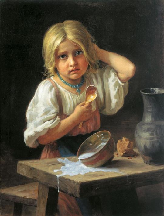 HARITON PLATON. Fata țărănească. 1876