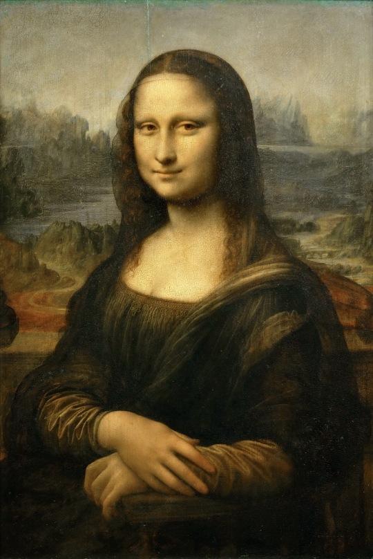 Leonardo da Vinci - Mona Lisa (Gioconda) 1503-1505 Ulei pe lemn 77 x 53 cm Paris. Luvru Acesta este probabil portretul soției comerciantului Giocondo (unde numele de pictura este Giocon