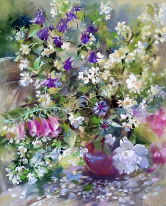 ablourile Natalia Anikina-Zakrevskaya emit energia pozitivă și sunt pline de bunătate și iubire. 9