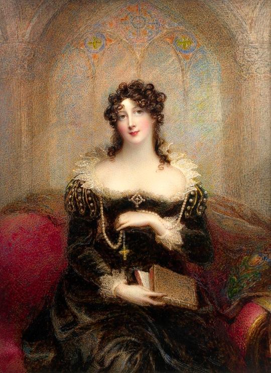 Artist englez - doamna Joseph Mee (nee Anne Foldsone) (britanic, 1770-1851) cc