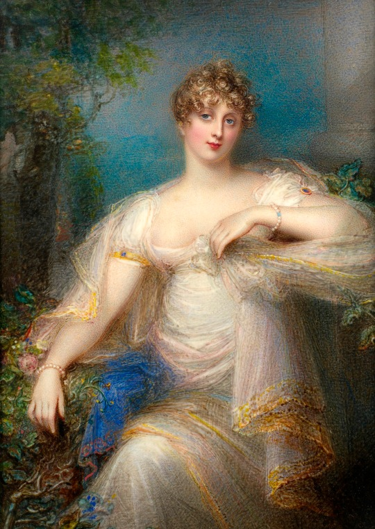 Artist englez - doamna Joseph Mee (nee Anne Foldsone) (britanic, 1770-1851) v