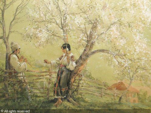 bednarik-ignat-1882-1963-roman-idyll-at-the-stile-3567205