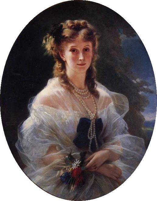 Sophie Trubetskaya ducesa Morny 1863
