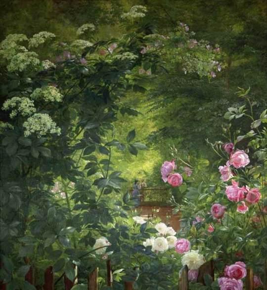 carl frederik danish painter (b. 1833, odense, d. 1895