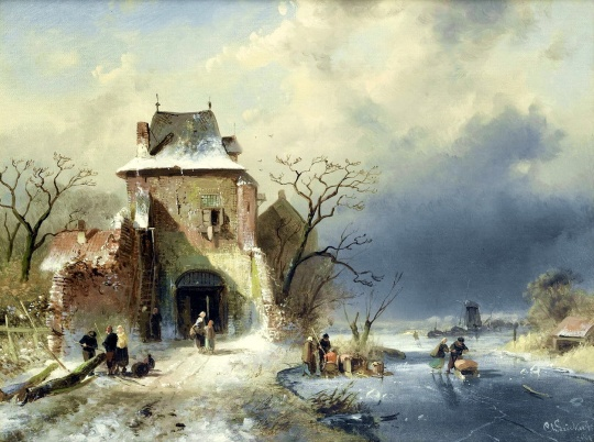 charles leickert (dutch, 1816-1907)