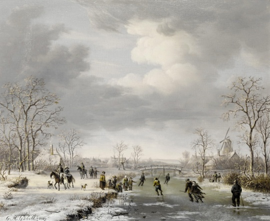 gerrit hendrik gobell (dutch, 1786-1833)