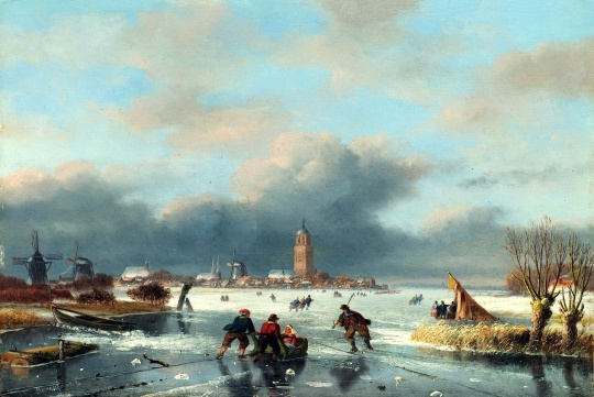 icholas johannes roosenboom (dutch, 1805-1880)