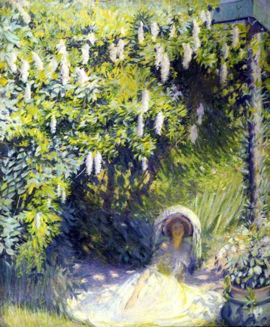 philip leslie hale (american, 1865-1931) pictor impresionist, scriitor si profesor. v