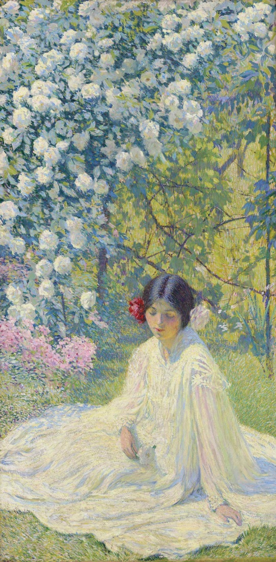 philip leslie hale (american, 1865-1931) pictor impresionist, scriitor si profesor.