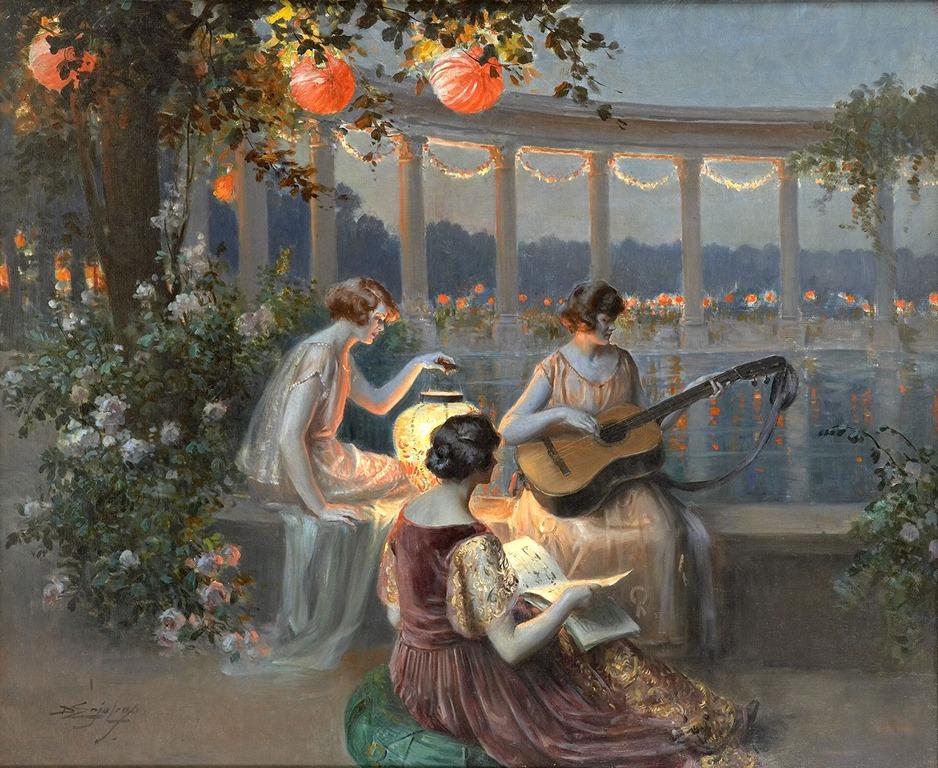 Delphin-Enjolras-1857-1945-The-Musicians
