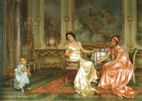 Artistul Vittorio Reggianini (Vittorio Reggianini) sa născut în orașul Modena, în nordul Italiei, în 1853