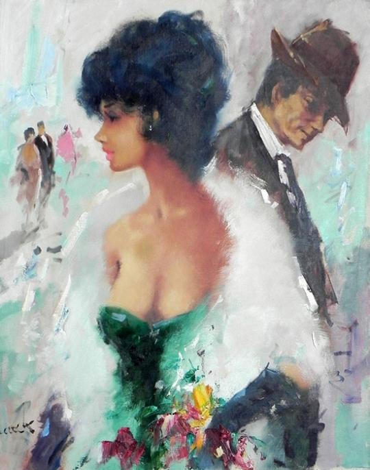 Christian Jereczek este un impresionist minunat. Sa născut în Germania în 1935. ll