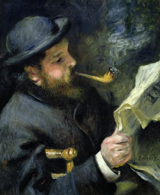 Claude Monet citind