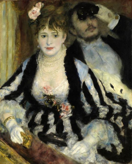 Pierre-Auguste Renoir in lojă