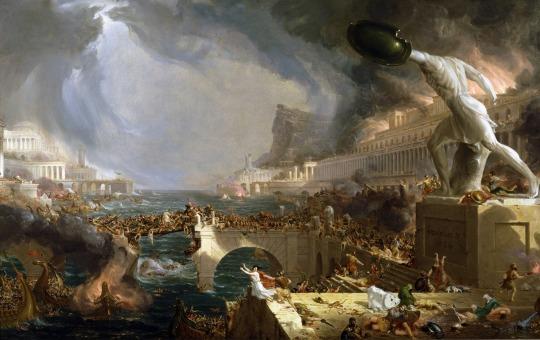 Calea Imperiului distrugerea