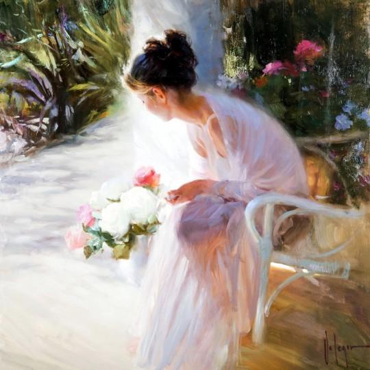 Artistul Vladimir Volegov. s