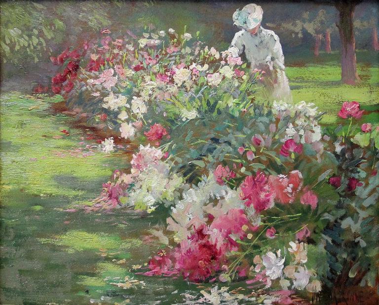 Matilda Browne, Peonies (1907)