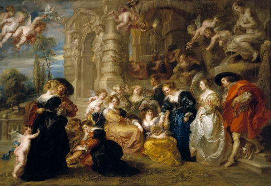 Peter Paul Rubens (1577-1640) gradina dragostei 1630-35